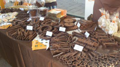 Iz čokolade se da narediti tudi orodje. Foto: A.D.