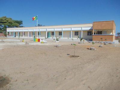 Nov vrtec v eni izmed manjših vasic v Senegalu (Foto: P.Š.)