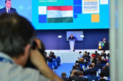 Viktor Orban na EPP v Madridu (foto: flickr).