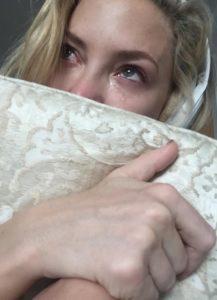 Tudi Kate Hudson je Adele spravila v jok. (foto: Instagram)
