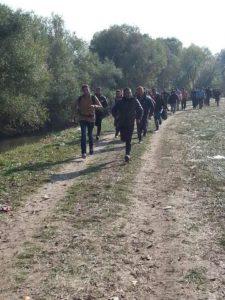 Prihod večjega vala migrantov (foto: Nova24TV)