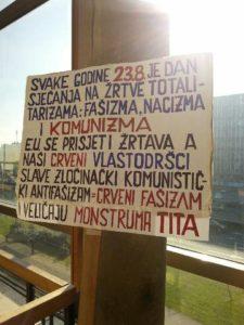 Tito, sojenje, Hrvaška