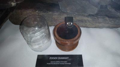 Originalni Zoisov diamant (foto: N. K.).