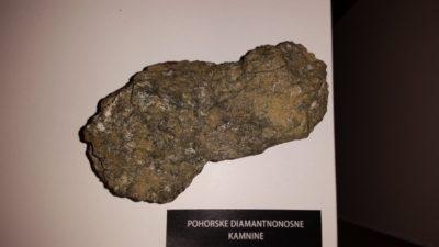 Pohorska diamantnonosna kamnina (foto: N. K.).