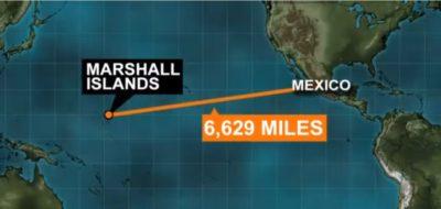 Mehičan, ki je na odprtem morju pil lasten urin, da je preživel 1