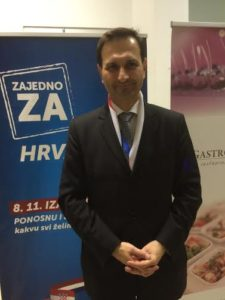 Miro Kovač, mednarodni tajnik HDZ (foto: N. K.).
