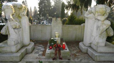 Grob voditelja zgodovinske Slovenske ljudske stranke Janeza Evangelista Kreka (foto:STA)