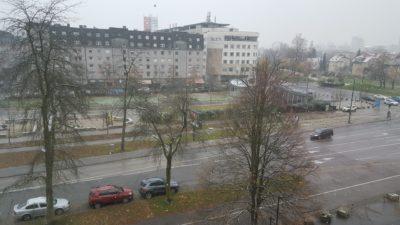 Ni ravno snežni metež, nekaj snežink pa je (foto: Nova24TV).