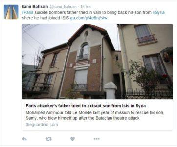 Spregovoril je oče strelca iz pariškega pokola 3