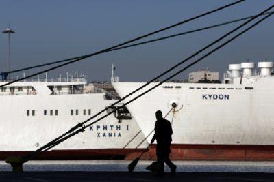 Trajekti v Grčiji ne vozijo (foto:epa)