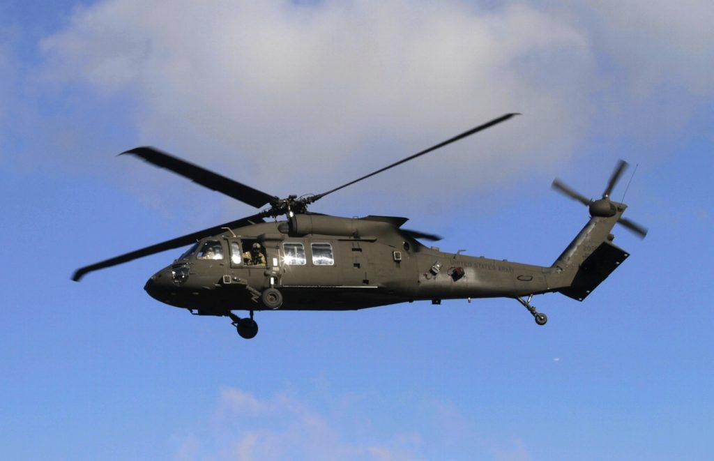 Vojaški helikopter Black Hawk (foto: epa).