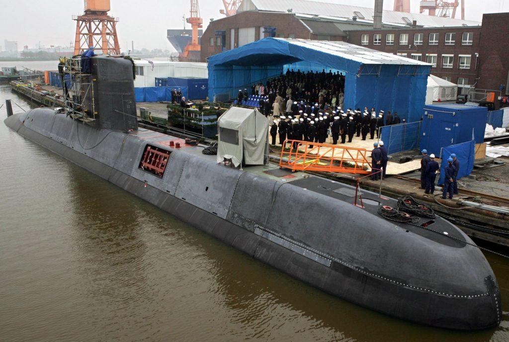 Nemška podmornica tip 209 (foto: epa).