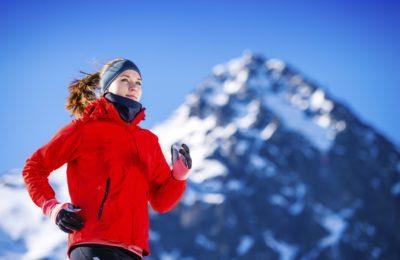 Tek je lahko tudi v zimskim mesecih zelo prijeten (foto: iStock)