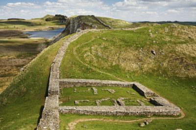 Ostanki rimskih obrambnih utrdb, Foto: iStock