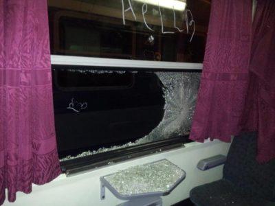 Fotogalerija: Grozljivo razdejani in umazani vlaki po prevozu migrantov 5