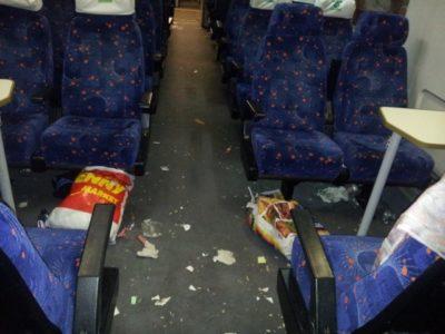 Fotogalerija: Grozljivo razdejani in umazani vlaki po prevozu migrantov 7