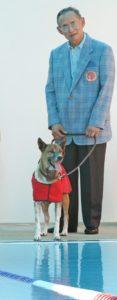Tajski kralj in njegova zvesta psička (Foto: epa)