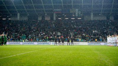 Polne Stožice na derbiju z Mariborom (foto: facebook).