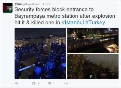 V Istanbulu eksplodiralo na podzemni železnici 2