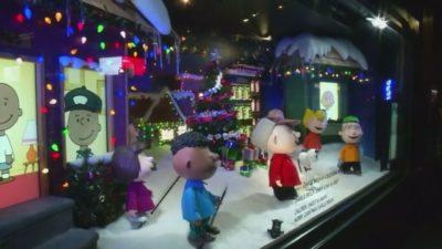 Vsako leto decembra je v New Yorku otvoritev izložb veleblagovnic največji dogodek leta. 1