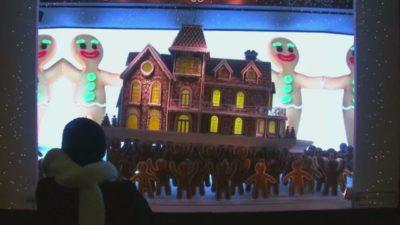 Vsako leto decembra je v New Yorku otvoritev izložb veleblagovnic največji dogodek leta. 7