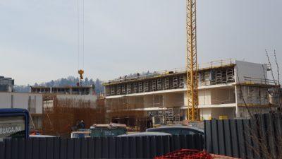 Trenutno stanje gradnje džamije; Foto: Nova24tv