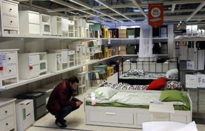 Ikeini izdelki so priljubljeni med Slovenkami (foto:epa).