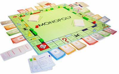 Igralna plošča Monopoly. Foto: Twitter
