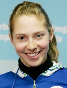 Pri 15 letih je Ana Bucik nastopila na olimpijskem festivalu evropske mladine (foto: sta).