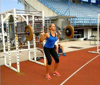 Tudi suhi treningi (na stadionu v Novi Gorici) že prinašajo sadove trdega dela (foto: facebook).