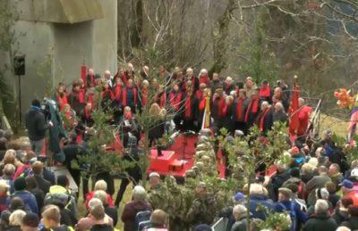 """""""Hej brigade hitite..."""" (foto: Nova24tv)."""