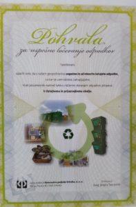Vestni občani so od KPV prejeli tudi pohvalo (foto: N. K. ).