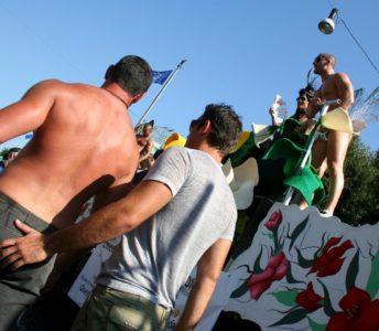 Gay parada, Rim 2006 (foto: epa).
