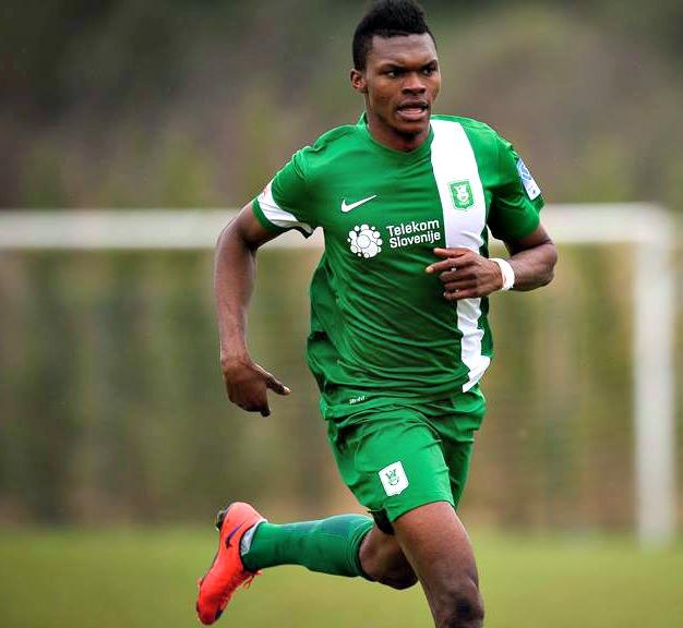 Blessing Chibuike Eleke bo prvo uradno tekmo v dresu Olimpije odigral čez dobra dva tedna, ko se začne spomladanski del prvenstva (foto: Facebook)