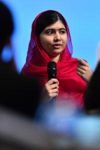 Pakistanska borka za izobraževanje žensk in Nobelova nagrajenka za mir Malala Yousafzai (foto: epa).