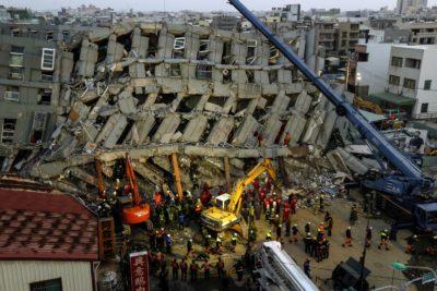 Tajvan, potres. Foto: epa