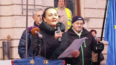 Anja Bah Žibert; Foto: Nova24tv