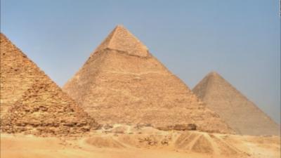 Piramide v Gizi; Foto: Youtube
