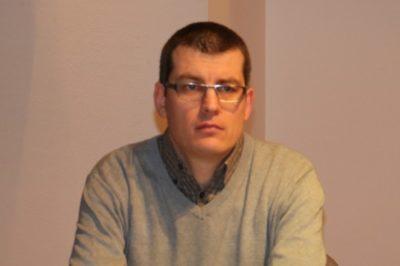Gašper Dovžan (foto: N. K.).