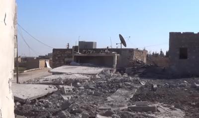 Od mesta so ostale le še ruševine (foto: printscreen/Youtube)
