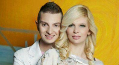 Damjan Murko in njegova soproga. Vir: D. M.
