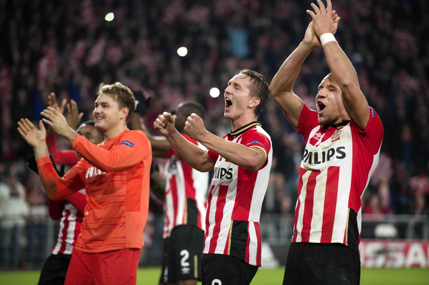 PSV iz Eindhovna bo predstavljal visoko oviro za Atletico Madrid (foto: EPA).