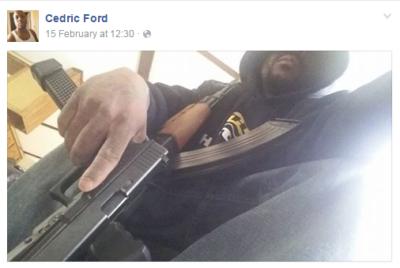 Fotografija, ki jo je objavil na svojem Facebook profilu 10 dni pred strelskim pokolom. Foto: Facebook