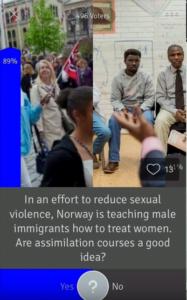 Na Norveškem predavanja za migrante: 'Če ima oblečeno krilo, še ne pomeni, da si želi spolnih odnosov' 1