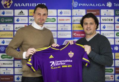 Še kako veseli Zlatko Zahovič, ki je ponovno odlično opravil svoje delo (foto: NK Maribor).