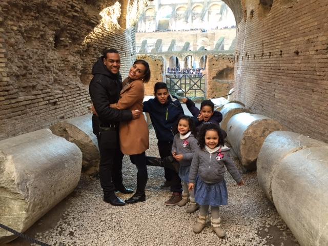 Marcos Tavares s svojo družino (foto: osebni arhiv)