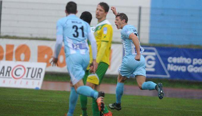 Marko Nunić se je veselil zadetka za končnih 2:2 (foto: facebook).