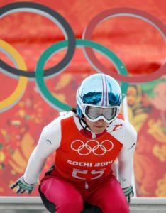 Ko je začela s smučarskimi skoki, si Maja Vtič ni niti približno mislila, da bo kdaj nastopila na olimpijskih igrah (foto: epa).
