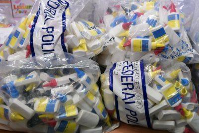Policija je zasegla 720 litrov metamfetamina (foto: epa).