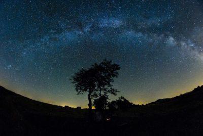 Mlečna cesta; Vir: EPA